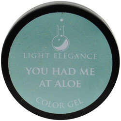 Light Elegance You Had Me at Aloe Color Gel (UV / LED Gel)