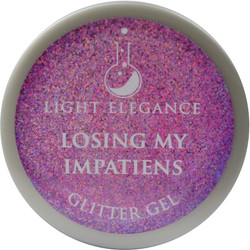 Light Elegance Losing My Impatiens Glitter Gel (UV / LED Gel)