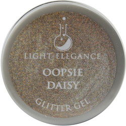 Light Elegance Oopsie Daisy Glitter Gel (UV / LED Gel)