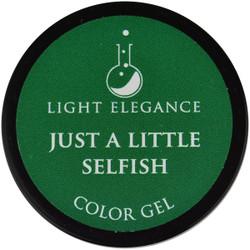 Light Elegance Just A Little Selfish Color Gel (UV / LED Gel)
