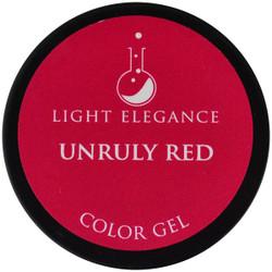 Light Elegance Unruly Red Color Gel (UV / LED Gel)