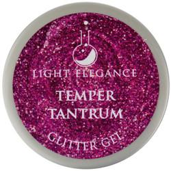 Light Elegance Temper Tantrum Glitter Gel (UV / LED Gel)