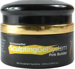 Bio Seaweed Gel Pink Builder Sculpting Gel (0.85 fl. oz. / 25 mL)