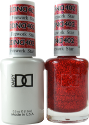 DND Firework Star Duo (UV / LED Polish & Matching Lacquer)