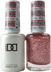 DND Pinky Star Duo (UV / LED Polish & Matching Lacquer)