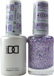 DND Shooting Star Duo (UV / LED Polish & Matching Lacquer)