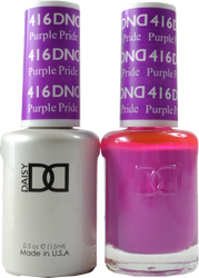 DND Purple Pride Duo (UV / LED Polish & Matching Lacquer)