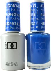 DND Pool Party Duo (UV / LED Polish & Matching Lacquer)