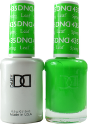 DND Spring Leaf Duo (UV / LED Polish & Matching Lacquer)