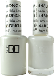DND Snow Flake Duo (UV / LED Polish & Matching Lacquer)