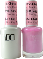 DND First Kiss Duo (UV / LED Polish & Matching Lacquer)