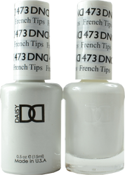 DND French Tips Duo (UV / LED Polish & Matching Lacquer)