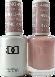 DND Season Beige Duo (UV / LED Polish & Matching Lacquer)