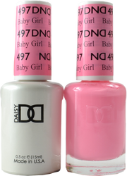 DND Baby Girl Duo (UV / LED Polish & Matching Lacquer)
