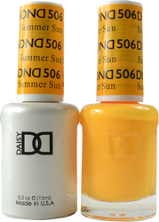 DND Summer Sun Duo (UV / LED Polish & Matching Lacquer)