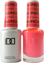 DND Coral Reef Duo (UV / LED Polish & Matching Lacquer)