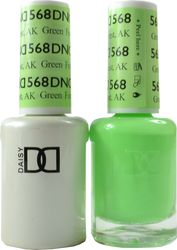 DND Green Forest, AK Duo (UV / LED Polish & Matching Lacquer)