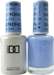 DND Blue Bell Duo (UV / LED Polish & Matching Lacquer)
