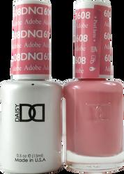 DND Adobe Duo (UV / LED Polish & Matching Lacquer)
