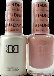 DND Sun Tan Duo (UV / LED Polish & Matching Lacquer)
