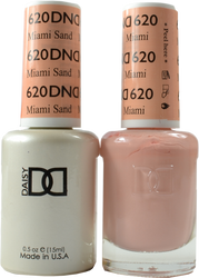 DND Miami Sand Duo (UV / LED Polish & Matching Lacquer)