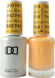 DND Honey Duo (UV / LED Polish & Matching Lacquer)
