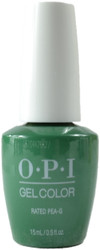 OPI Gelcolor Rated Pea-G (UV / LED Polish)