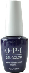 OPI Gelcolor Award For Best Nails Goes To (UV / LED Polish)