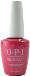 OPI Gelcolor 15 Minutes Of Flame (UV / LED Polish)