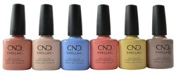 CND Shellac 6 pc The Colors Of You Collection