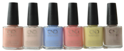 CND Vinylux 6 pc The Colors Of You Collection