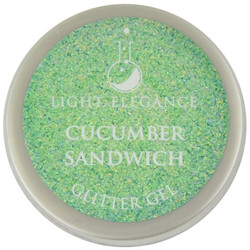 Light Elegance Cucumber Sandwich Glitter Gel (UV / LED Gel)
