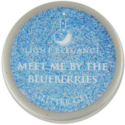 Light Elegance Meet Me By The Blueberries Glitter Gel (UV / LED Gel)
