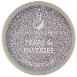 Light Elegance Pears & Pastries Glitter Gel (UV / LED Gel)