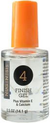 Nugenesis #4 Finish Gel for Dip Powder (0.5 fl. oz. / 14.7 mL)