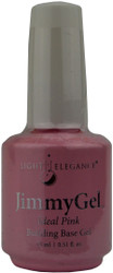 Light Elegance JimmyGel Soak Off Building Base Gel - Ideal Pink (0.51 fl. oz. / 15 mL)