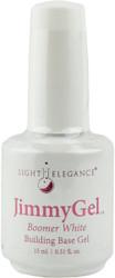 Light Elegance JimmyGel Soak Off Building Base Gel - Boomer White (0.51 fl. oz. / 15 mL)