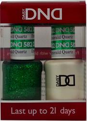 Emerald Quartz Duo (UV / LED Polish & Matching Lacquer) by DND