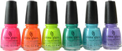 China Glaze 6 pc Havana Nights Collection