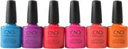 CND Shellac 6 pc Summer City Chic Collection