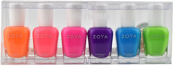 Zoya 6 pc Easy Neon Collection