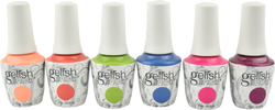 Gelish 6 pc Feel The Vibes Collection
