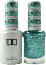 DND Emerald Stone Duo (UV / LED Polish & Matching Lacquer)