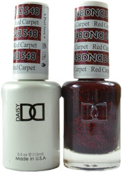 DND Red Carpet Duo (UV / LED Polish & Matching Lacquer)