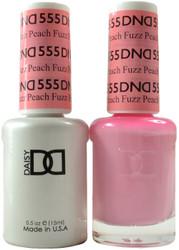 DND Peach Fuzz Duo (UV / LED Polish & Matching Lacquer)