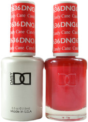 DND Candy Cane Duo (UV / LED Polish & Matching Lacquer)