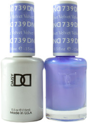 DND Velvet Duo (UV / LED Polish & Matching Lacquer)