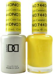 DND Caramel Corn Duo (UV / LED Polish & Matching Lacquer)