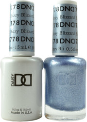 DND Bizzy Blizzard Duo (UV / LED Polish & Matching Lacquer)