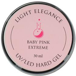 Light Elegance Baby Pink Extreme Lexy Line UV / LED Hard Gel Builder (1.01 fl. oz. / 30 mL)